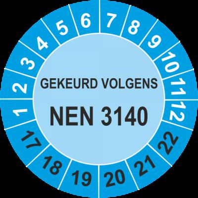 Keuring sticker