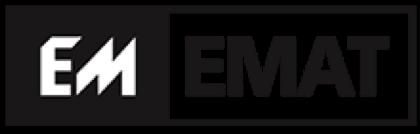 Emat logo zwart